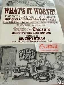 Whats It Worth >> What S It Worth Antiques Collectibles Price Guide Trash