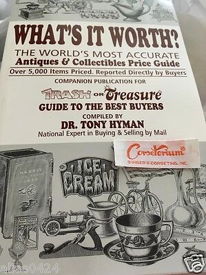 Whats It Worth >> What S It Worth Antiques Collectibles Price Guide Trash Or