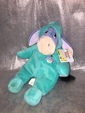 "Disney Eeyore Baby Romper Sleepsuit Soft Toy Plush 15"" with Original Tags"