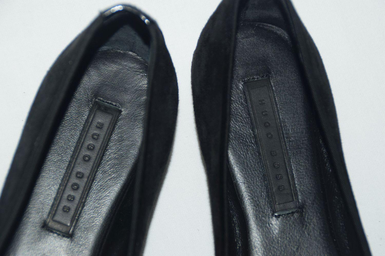 HUGO BOSS BALLERINAS, Mod. Phaide-GSU, Gr. EU 35 35 35   UK 2   US 5, Black b91219