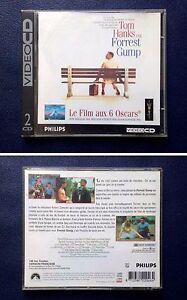 Philips-CD-i-Movie-Video-CD-Forrest-Gump-de-Robert-Zemeckis-VF-RARE