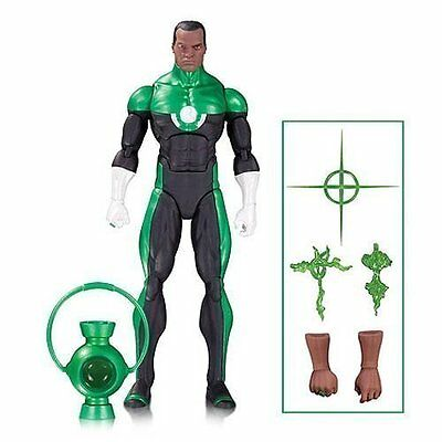 "DC Collectibles Icons Green Lantern John Stewart MOSAIC 6"" Action Figure FREE SH"