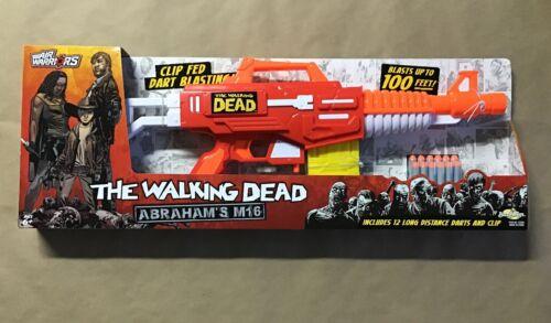 New The Walking Dead Air Warriors Abraham's M16 Blaster