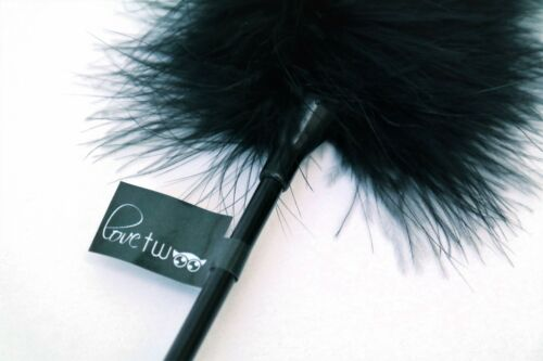 Lovetwoo Feather TicklerBlack or RedS/&M Play Bondage Fancy Dress