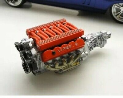 1//25-1//24 Viper Engine Kit Resin MADE TO ORDER