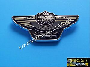 HARLEY DAVIDSON FORD F150 SUPERCHARGED TAILGATE ANNIVERSARY EMBLEM
