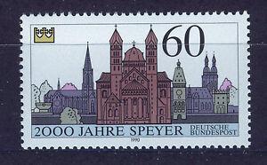 ALEMANIA-RFA-WEST-GERMANY-1990-MNH-SC-1591-Speyer-2000th-annv
