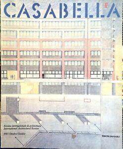 CASABELLA N° 495 OTTOBRE 1983 OTTIMO!!