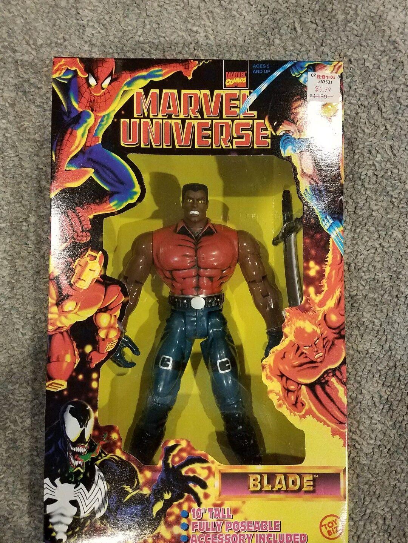 BLADE 1997 Toy Biz Marvel Universe 10  Inch Figure Doll IN ORIGINAL BIG BOX