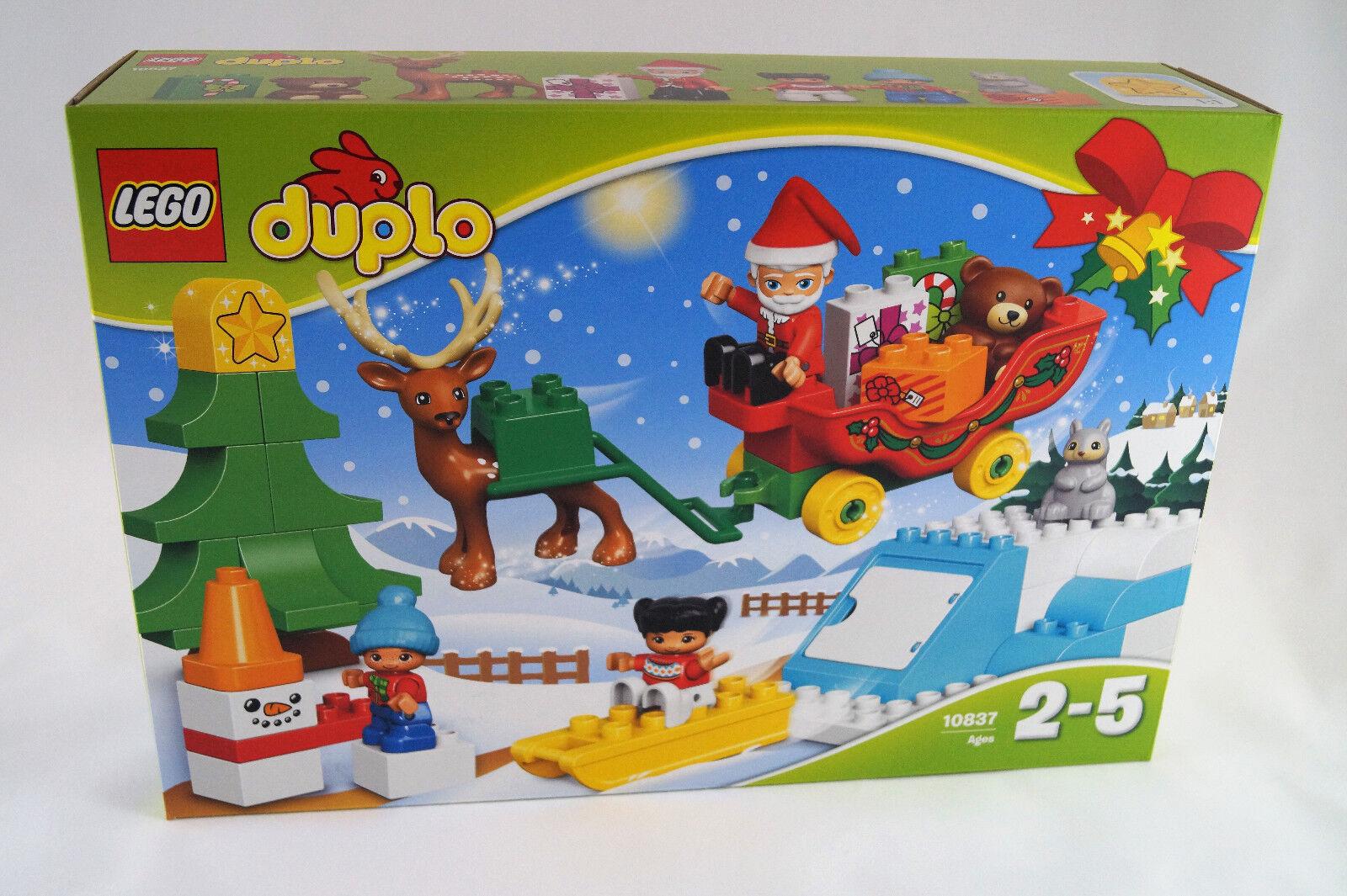 LEGO® Duplo 10837 10837 10837 Winterspaß mit dem Weihnachtsmann Neuware   New   Sealed 31962c