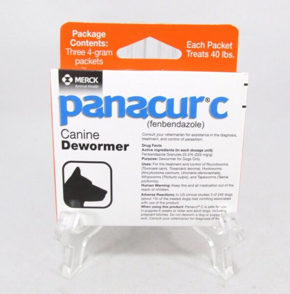 Panacur C Canine Dewormer Dogs 4-Gram for sale online | eBay