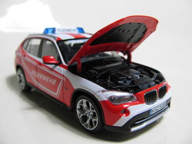 1 43 Schuco BMW X1 X1 X1 FEUERWEHR diecast f22c01