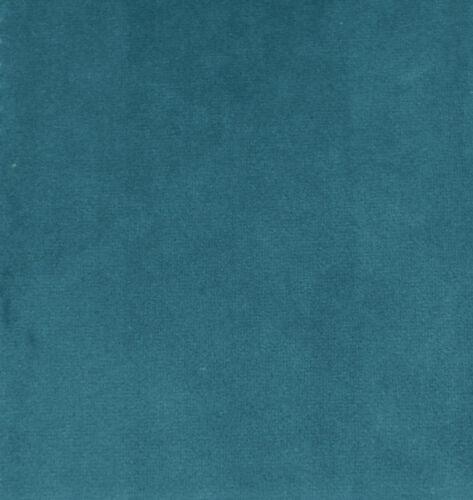 Mf64t Light Smoke Bleu Microfibre Velours Boîte 3D Coussin de siège Housse de taille personnalisée