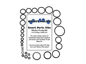 Smart-Parts-Vibe-Paintball-Marker-O-ring-Oring-Kit-x-2-rebuilds-kits