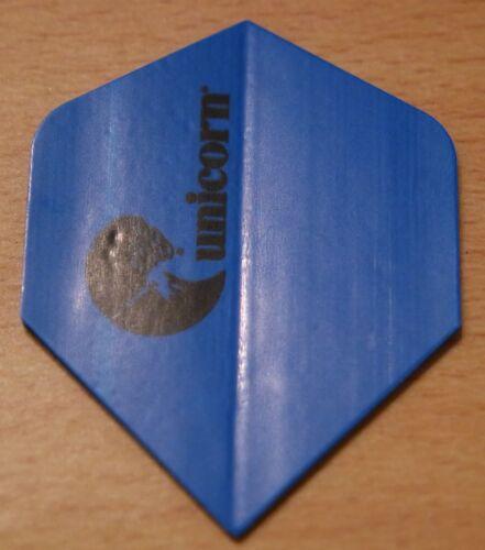 "3X3 Unicorn Maestro .100 /""Blue/"" standard shaped dart flights. 3 Sets"