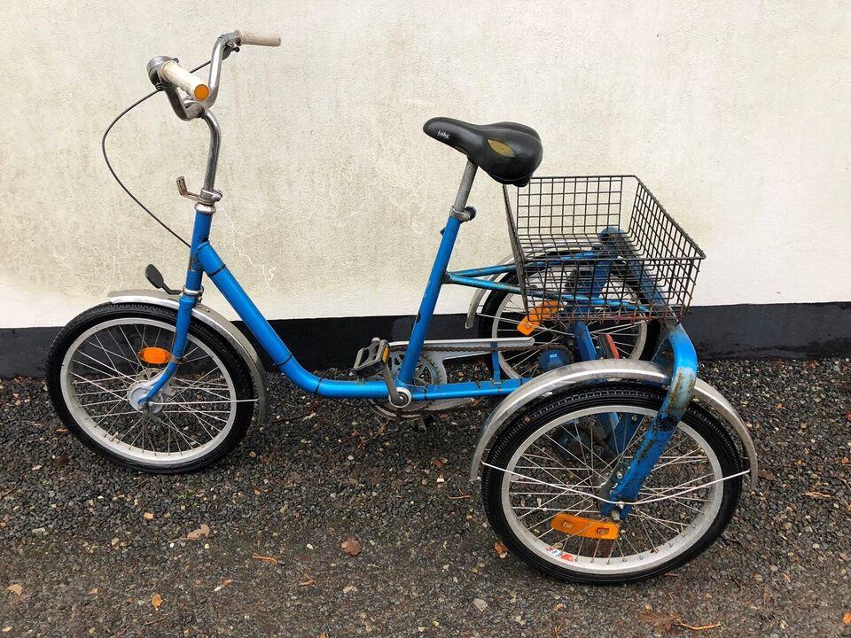 Handicapcykel, Monark Seniorcykel, 3 gear