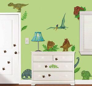 Wandsticker Wandtattoo Roomfx Dinosaurier Dino Kinderzimmer Deko