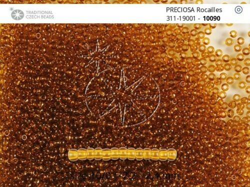 CLEARANCE 0.5 kg Czech Preciosa Rocaille 11//0 Seed Beads Color 10090 Wholesale
