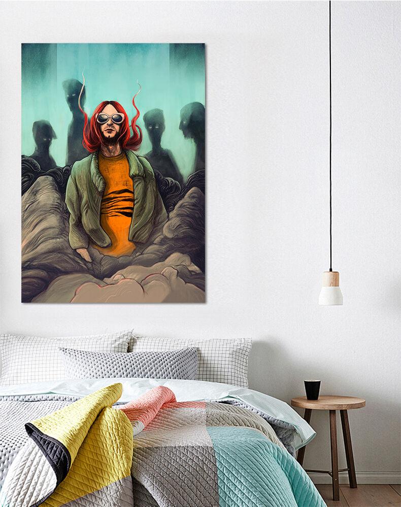 3D Alien Superkräfte Malerei 85 Fototapeten Wandbild BildTapete AJSTORE DE Lemon
