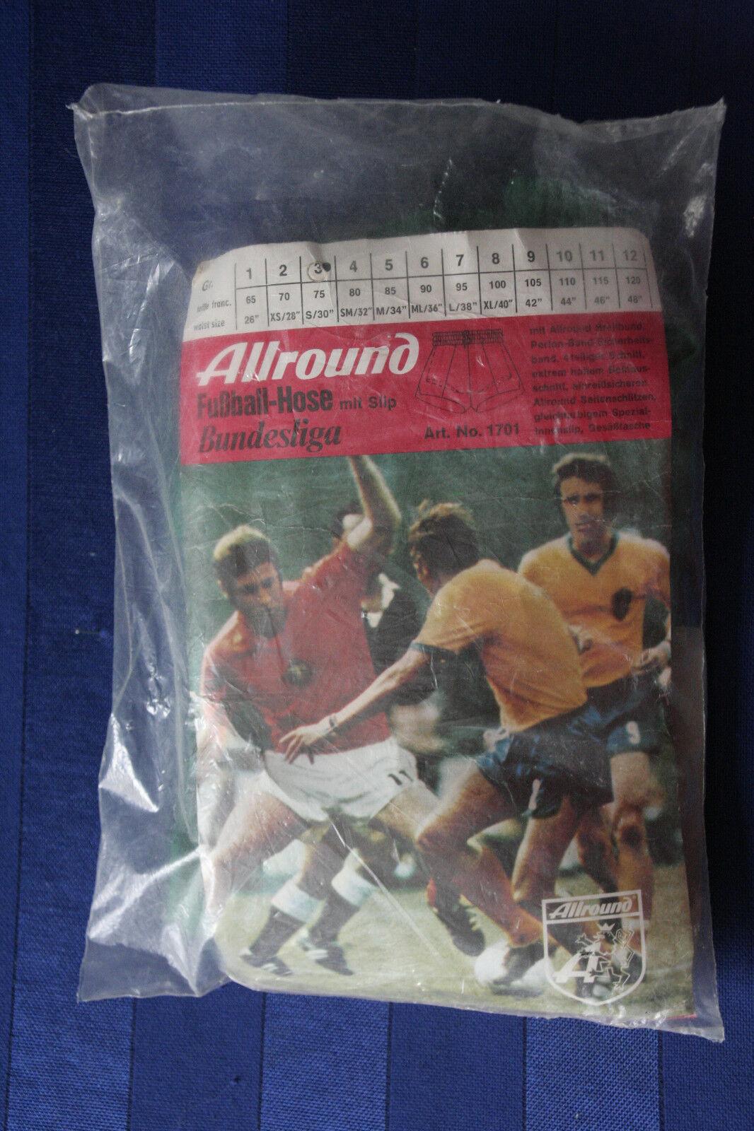 Allround Fußball Hose Bundesliga mit slip True Vintage sport football shorts NOS    | Kaufen