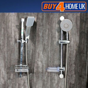 Value-Chrome-Riser-Kit-Discount-Shower-Head-Hose-Bar-Rail-Soap-Dish