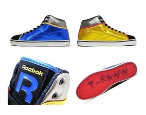 REEBOK T RAWW V60873 Mid Leather Herren Classic Sneaker