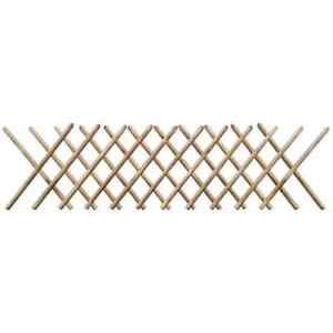 vidaXL Holz Imprägniert Jägerzaun Gartenzaun Scherenzaun Zaun 250x60/80/100 cm