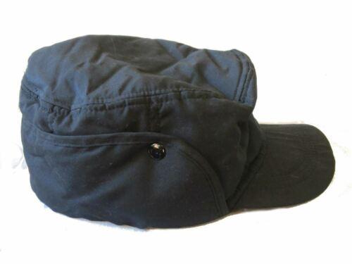Homme Chapeau Trappeur Hiver Clip de Fixation Noir GL322