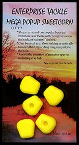 Enterprise Tackle Mega Pop Up Sweetcorn Floating schwimmende Mais Imitate