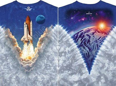 SPACE SHUTTLE AMERICAN SPACE PROGRAM USA FLIGHT TIE DYE T TEE SHIRT M L XL 2XL