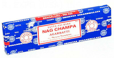 Three 100g of Genuine Nag Champa Incense Sticks boxes. (free shipping)