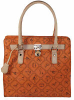Giulia Pieralli Damen Tasche  Handtasche  Shopper  in orange  No. 28630