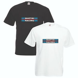 Martini-Racing-T-Shirt-Car-Enthusiast-Lancia-Rally-VARIOUS-SIZES-amp-COLOURS