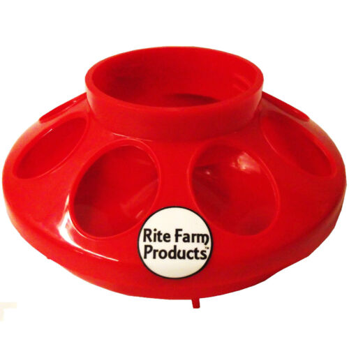 *COMBO* RED RITE FARM PRODUCTS QUART FEEDER /& WATERER POULTRY CHICKEN CHICK