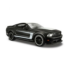 Maisto 31269 Ford Mustang Boss 302 matt schwarz - Black Series Maßstab 1:24 NEU°