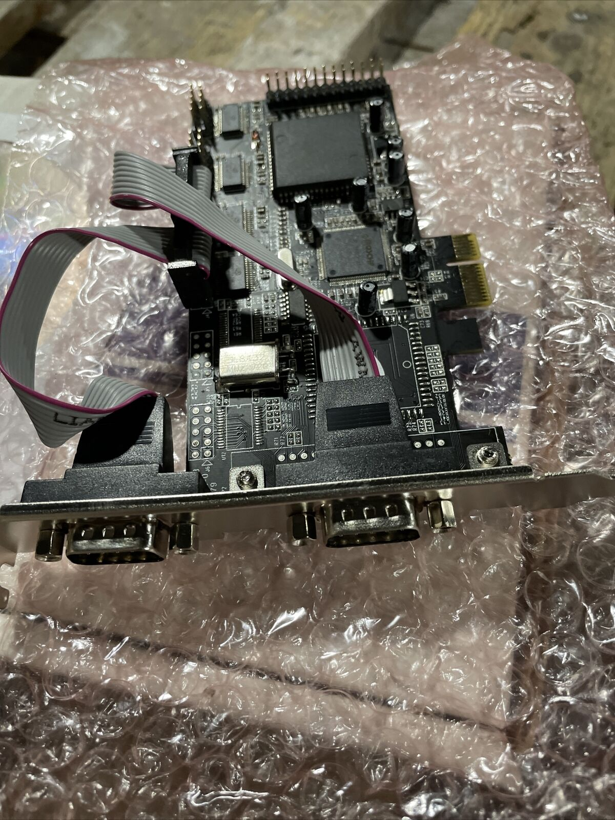 4S PCI Express I/O Card RS232 Multi Serial 2S/2S1P/4S/4S1P NIB Free Shipping
