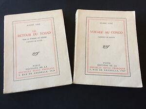 GIDE-VOYAGE-AU-CONGO-LE-RETOUR-DU-TCHAD-2-VOL-1-DES-118-REIMPOSES-VERGE-TBE