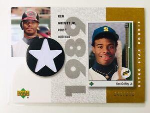 2002-1989 UD Retro Star Rookie Ken Griffey Jr. jersey Gold /275