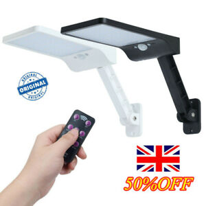 Solar-PIR-Motion-Sensor-Wall-Light-Outdoor-Street-Lamp-Remote-Control