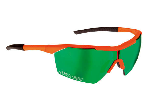 Glasses SALICE Mod.004 RW orange FLUO Lens Green