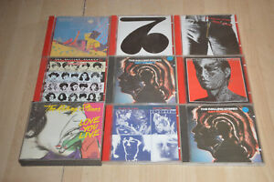 lot-9-CD-Les-Rolling-Stones-Love-you-Live-Hot-Rocks-Tattoo-You-Some-Girls