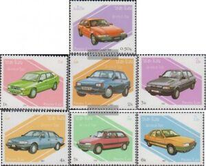 Laos-1010-1016-kompl-Ausg-postfrisch-1987-Autos