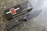 Ontario 8884cf Rat1 Carbon Fiber Scales D2 Blade Folding Knife Limited Edition