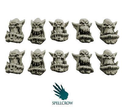 Spellcrow - Bulky Orcs Heads - Orcs BITS
