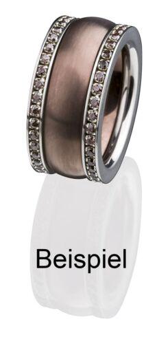 Serio Design edvita vorsteckring estrecho anillo 2 mm brillante r253 beisteckring