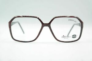 Vintage-Carboflex-Airess-RS-31-CHBO-57-14-140-Rot-Schwarz-oval-Brille-NOS