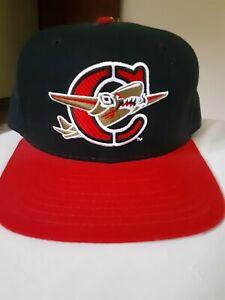 Capitol City Bombers Vintage New Era 90's Hat Minor League Snapback cap.