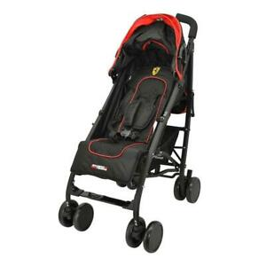 Ferrari Stroller Red And Black With Accesories Ebay