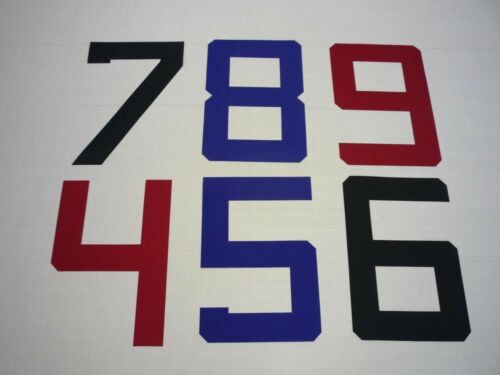 dinghy sticky sailcloth Sail Numbers 0-9 /&Letters A-Z 375mm upto 36ft//11m