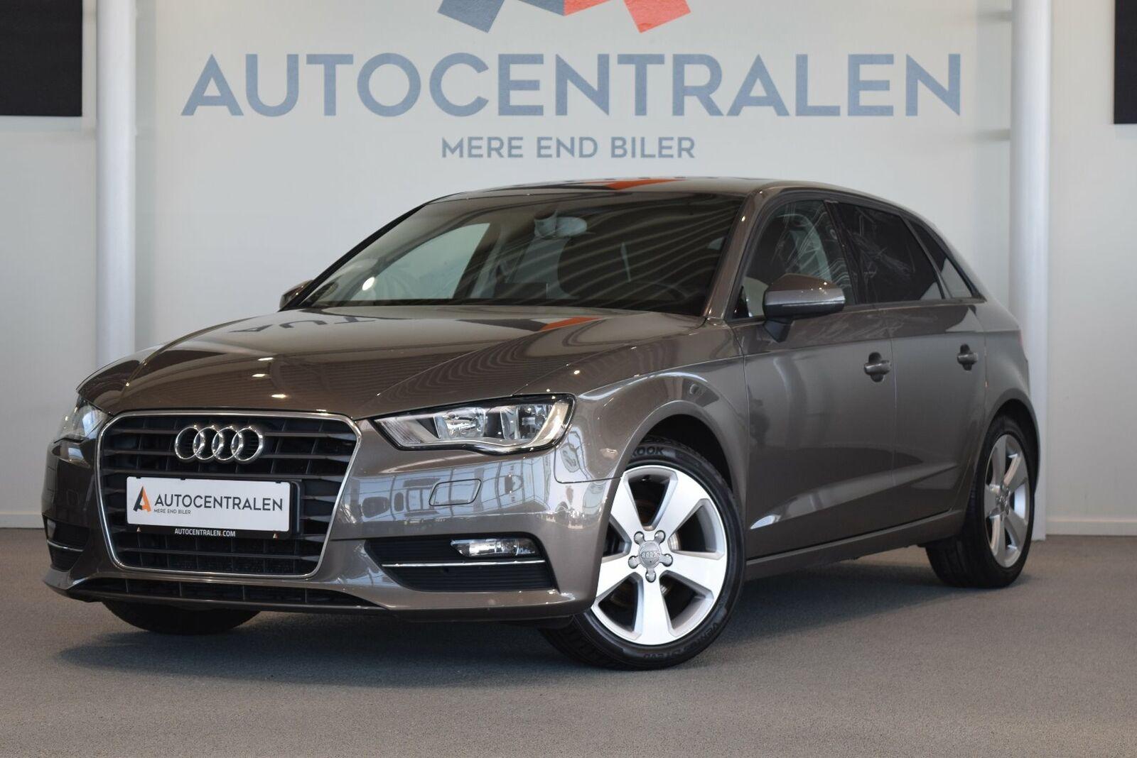 Audi A3 1,6 TDi 110 Ambition SB S-tr. 5d - 164.900 kr.